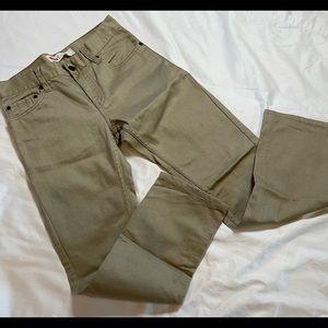 NWOT boys 14reg Levi's Slim khaki-colored Jeans